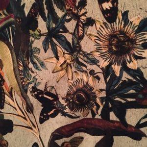 H&M Dresses - Botanical print butterfly maxi dress w pockets 14